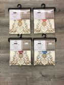 VIENNA KITCHEN WINDOW CURTAIN 3 PIECE SET