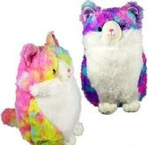 Plush Tie Dyed Chubby Cats