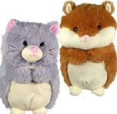 Plush Chubby Hamsters and Cats