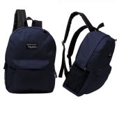 """17"""" Classic Navy Wholesale Backpacks"""