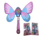 Light and Sound Fairy Bubble Wand with Wings