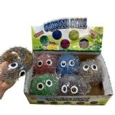 """4"""" Squish Spike Ball with Water Beads"""