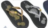 Womens Graphic Print Flip Flop Thong Sandal Beach Pool or Everyday
