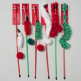 Christmas Cat Toy Wand