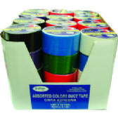 ECONOMY DUCT TAPE ASSORTED COLOR