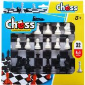32PC CHESS PLAY SET IN PEGABLE WINDOW BOX
