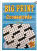 LARGE PRINT 80PG CROSS WORD PUZZLES