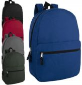 17 Inch Solid Backpack
