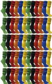 Yacht & Smith Womens Cotton Slouch Socks, Womans Knee High Boot Socks (Assorted, 120 Pack)