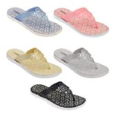 Women's Glitter Sandals In Assorted Color