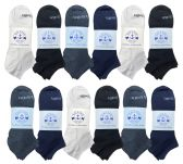 Yacht & Smith Mens Cotton Low Cut No Show Loafer Socks Size 10-13 Solid Assorted
