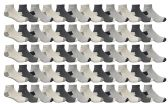 Yacht & Smith Men's Premium Cotton Sport Ankle Socks Size 10-13 Packed Assorted Colors