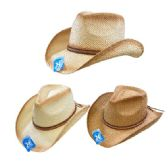 Classic Woven Cowboy Hat [Thin Braided Hat Band]