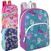 15 Inch Character Backpacks For Girls