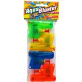 """4PC 2.75"""" WATER TOY GUN IN POLY BAG W/ HEADER, 2 ASSRT STYLE"""