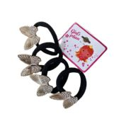Four Piece Hairbands With Assorted Pearl And Rhinestone Accents