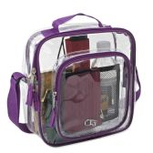 Clear Toiletry Bag In Pink