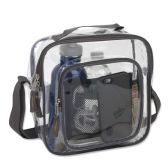 Clear Toiletry Bag In Grey