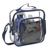 Clear Toiletry Bag In Navy