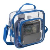 Clear Toiletry Bag In Blue