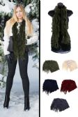Knit Winter Scarf in Assorted Colors
