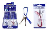 3-in-1 Bottle Opener And Screwdrivers Keychain