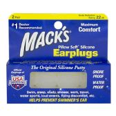 Earplugs - Mack's Pillow Soft Silicone Earplugs 2 Pairs