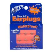 Earplugs - Mack's Soft Moldable Silicone Putty Earplugs Kids Size 6 Pairs