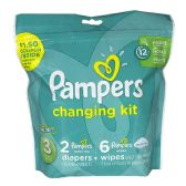 Pampers Size 3 - Pampers 8 Piece Changing Kit