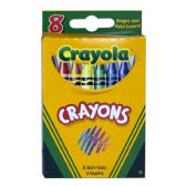 Crayola Crayons Box Of 8