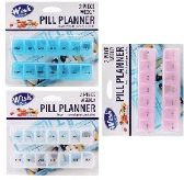 2pc Weekly Pill Planner