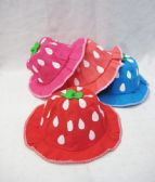 Toddlers Summer Strawberry Hat