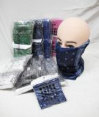 Winter Paisley Neck Gaiter Ski Tube Scarf Cold Weather Face Cover
