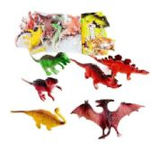 6pc Toy Dinosaur in Bag