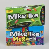 Candy Mike & Ike Orig And Mega Mix 5 Oz Theater Box In Flr Dspl
