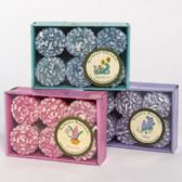 Votive 6pk Asst Flower Scents Made In Usa Acetate Box