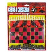 2-IN-1 Chess And Checkers Game