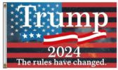 Trump 2024 The Rules Have Changed Flags
