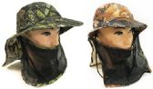 Summer Hunting Fishing Hat Camo with Neck And Face Cover