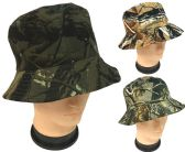 Forest Camo Bucket Hat Assorted Patterns