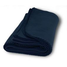 Promo Fleece Blanket / Throws - Navy