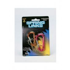 2 Pack spring links (assorted colors)
