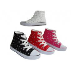 Toddler HigH-Top Printed Canvas Shoe.