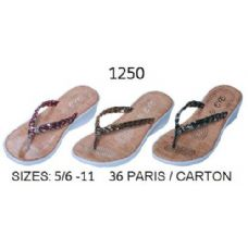 Ladies Flip Flop With Braided Strap