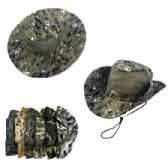 Assorted Camo Mesh Boonie Hat
