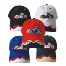 Motorcycle Baseball Cap Assorted Colors