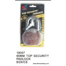 65MM TOP SECURITY PADLOCK
