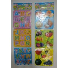 Set of 3 Child's Educational Puzzle