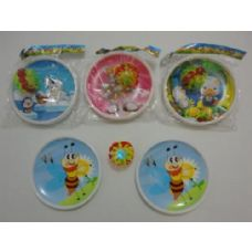 """2pc 7"""" Discs with Suction Cup light up Ball"""