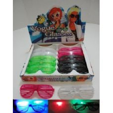 Light Up Window Shade Glasses